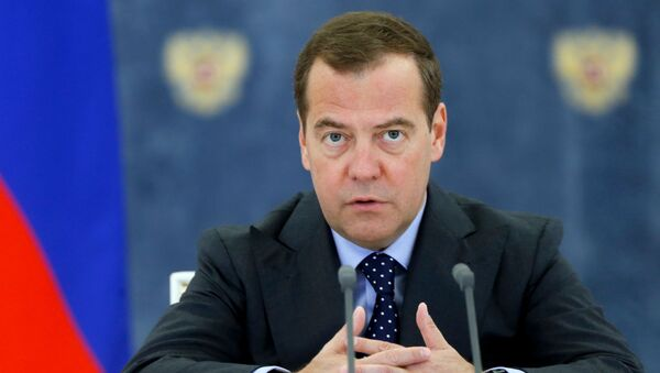 Dmitri Medvedev - Sputnik France