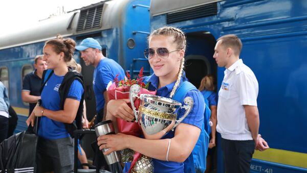 L'équipe de Russie de rugby à 7, championnes de l'Europe 2019  - Sputnik France