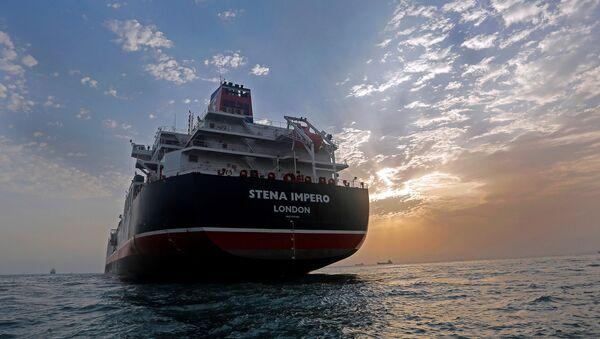 Stena Impero, pétrolier britannique - Sputnik France