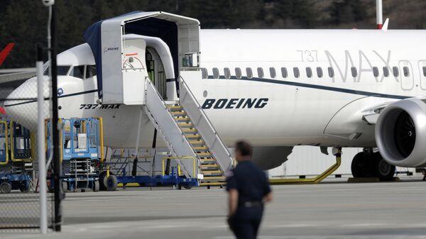 Un Boeing 737 MAX 8 (Image d'illustration) - Sputnik France