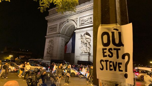 Une affiche «Où est Steve?» à Paris - Sputnik France