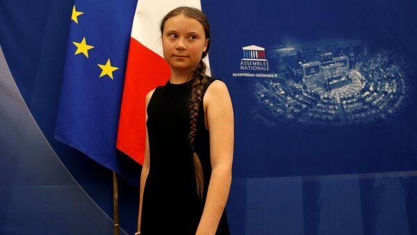 Greta Thunberg à l'Assemblée nationale mardi 23 juillet - Sputnik France