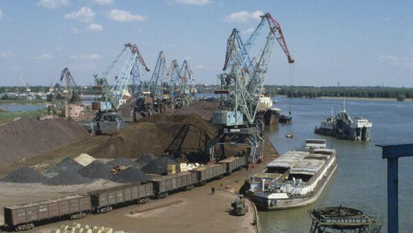 Port d'Izmaïl (archive photo) - Sputnik France