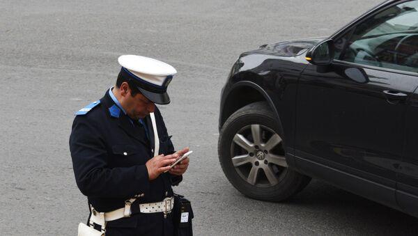 Un policier marocain à Rabat - Sputnik France