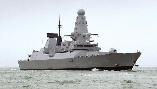 Le HMS Duncan, un destroyer de type 45 - Sputnik France