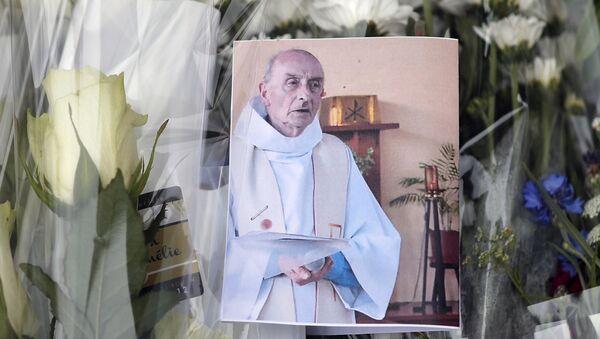 hommage au père Hamel - Sputnik France