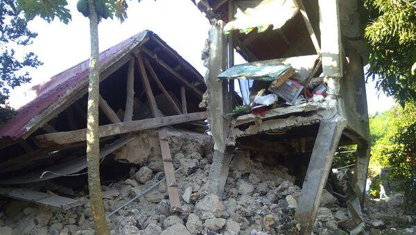 Les conséquences d'une série de séismes aux Philippines - Sputnik France