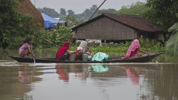 Inondations en Inde - Sputnik France