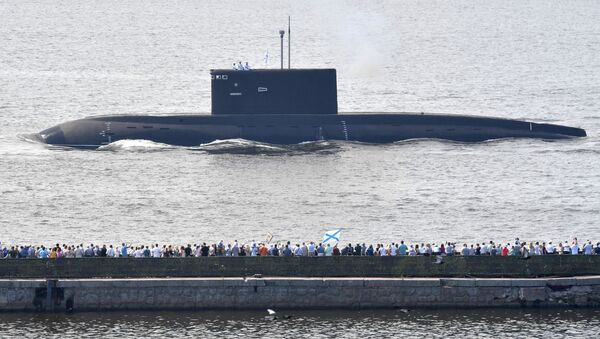 un défilé naval à Saint-Pétersbourg  - Sputnik France