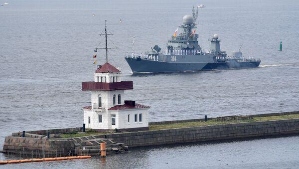 un défilé naval à Kronstadt - Sputnik France