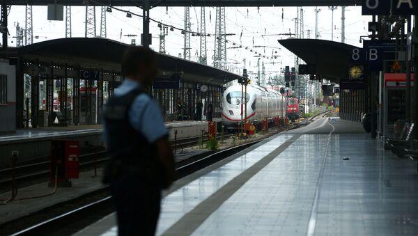 Police à la gare de Francfort-sur-le-Main - Sputnik France