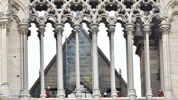 Notre-Dame après l'incendie - Sputnik France