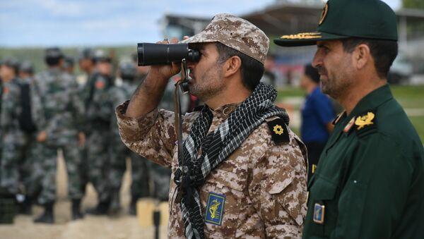 Des militaires iraniens sur le polygone russe d'Alabino  - Sputnik France