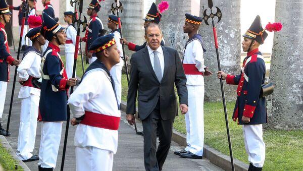 Lavrov au Brésil lors de la rencontre des BRICS - Sputnik France
