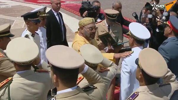 Cérémonie d'assermentation du 20e anniversaire de l'accession au trône du roi Mohammed VI - Sputnik France