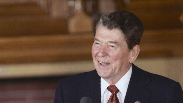Ronald Reagan - Sputnik France