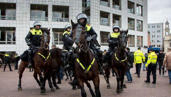 police néerlandaise (image d'illustration) - Sputnik France