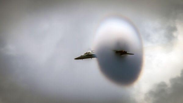 Un F/A-18E Super Hornet - Sputnik France
