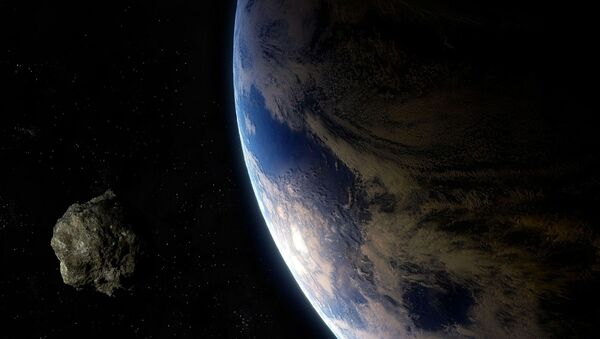 Un astéroïde (Image d'illustration) - Sputnik France