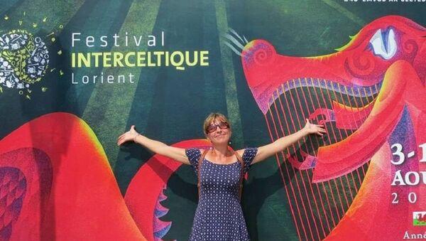 Chaque Festival Interceltique de Lorient est une bouffée d'air pour Elena, la passionnée - Sputnik France