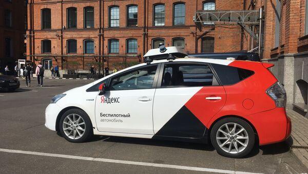 Une voiture autonome de Yandex - Sputnik France
