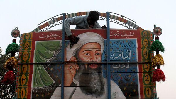 un portrai d'Oussama ben Laden - Sputnik France