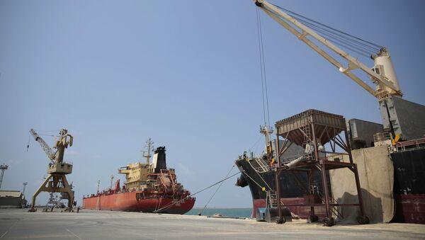 Le port d'Hodeida, Yémen - Sputnik France
