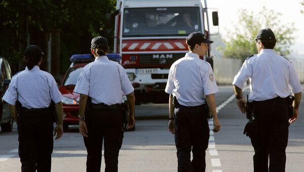 Des policiers à Toulouse, image d'illustration - Sputnik France