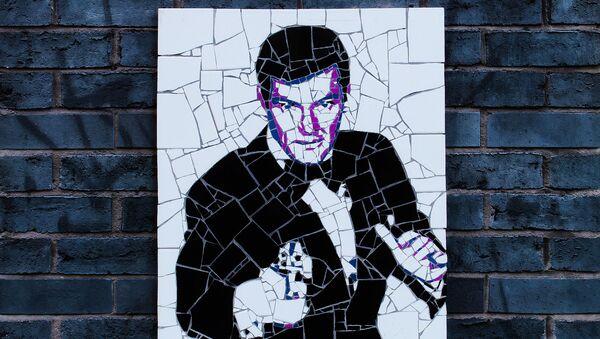 James Bond sur un mur de Manchester - Sputnik France