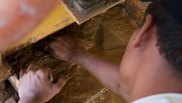 Extraction de l'or au Venezuela  - Sputnik France