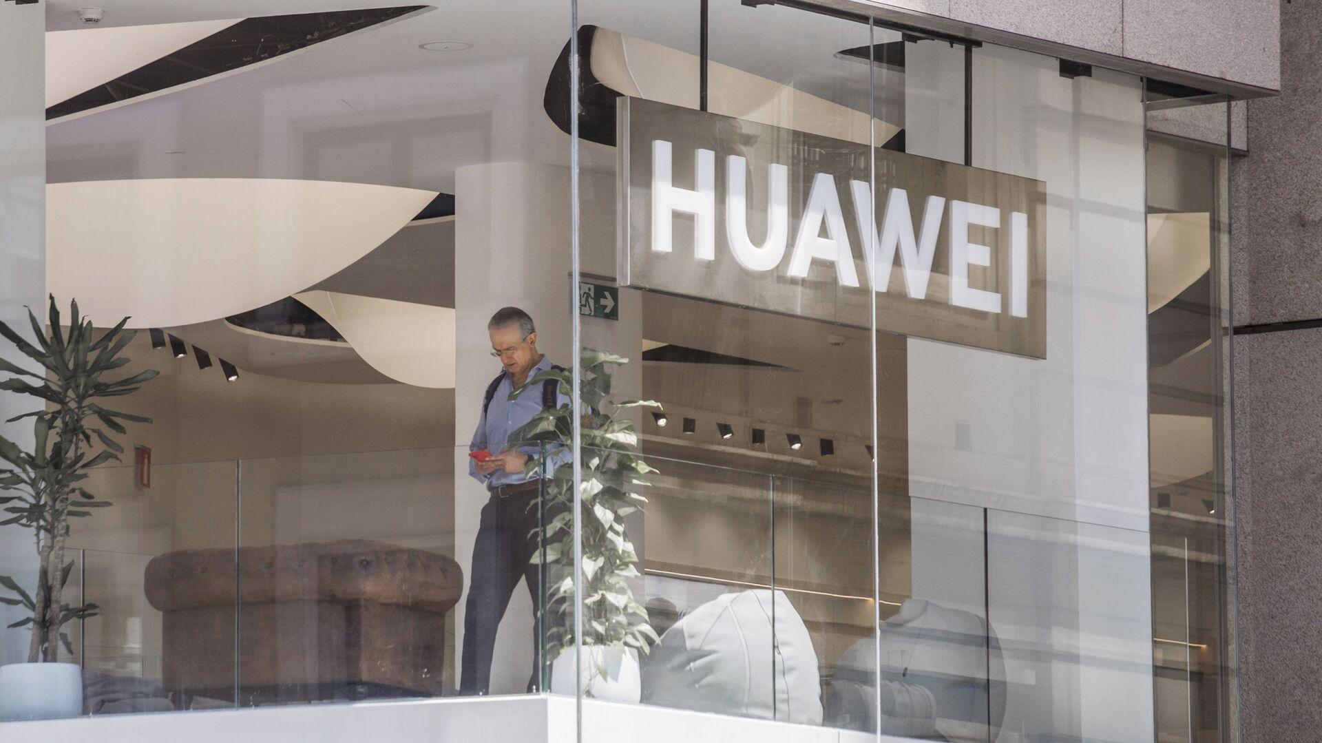 Флагманский магазин Huawei в Мадриде - Sputnik France, 1920, 25.09.2021