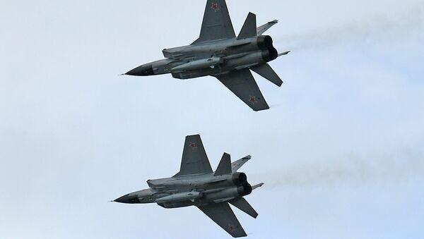 Des chasseurs MiG-31 avec des systèmes hypersoniques Kinjal - Sputnik France