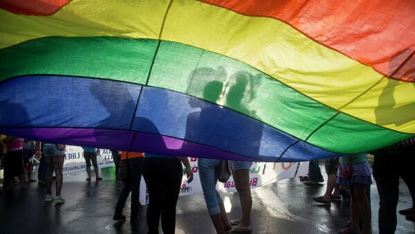 Drapeau LGBT - Sputnik France