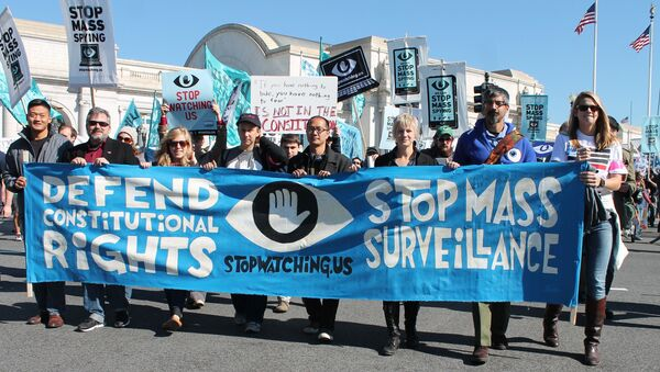 mass surveillance protest - Sputnik France