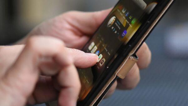 Un smartphone (image d'illustration) - Sputnik France