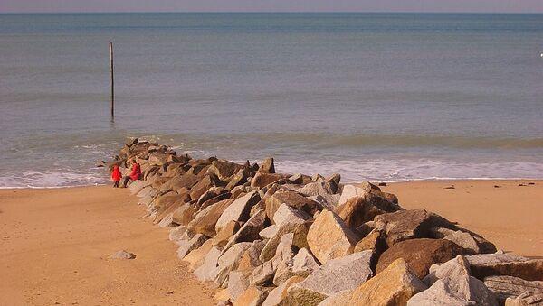 La plage de Coutainville - Sputnik France
