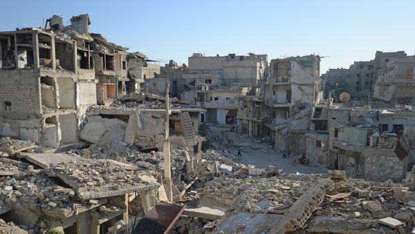 развалины в Дамаске - Sputnik France