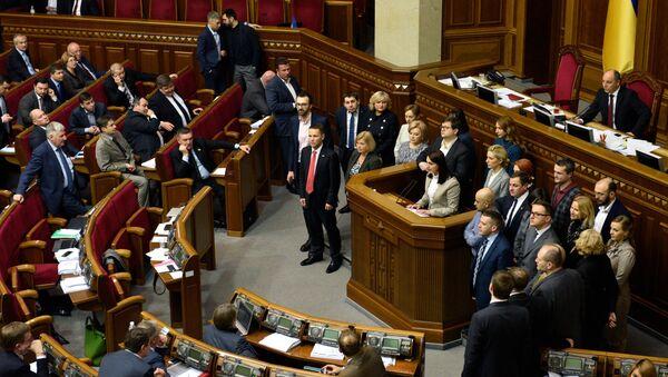 Открытие шестой сессии Верховной рады Украины - Sputnik France
