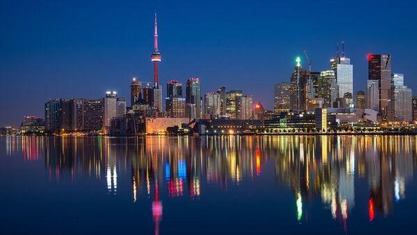Toronto vue de nuit - Sputnik France