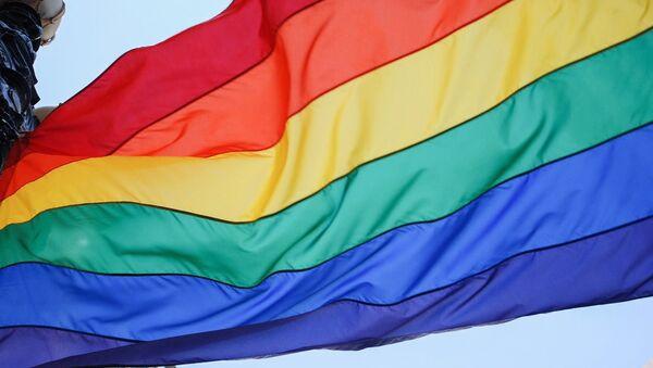 Bandera arcoíris, símbolo del movimiento LGBT - Sputnik France