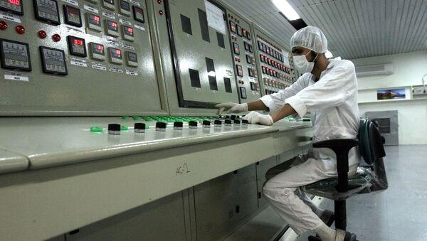 Un spécialiste du nucléaire iranien au site d'Ispahan (archive photo) - Sputnik France