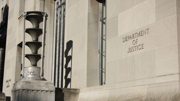 Département américain de la Justice (archive photo) - Sputnik France
