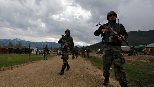 militaires indiens au Cachemire - Sputnik France