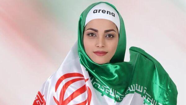 La nageuse iranienne Akram Konari Del - Sputnik France