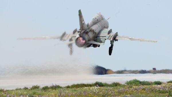 Un Su-17 des forces gouvernementales syriennes - Sputnik France
