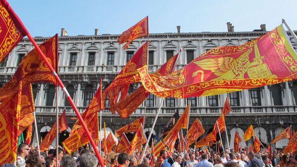Une manifestation à Venise - Sputnik France