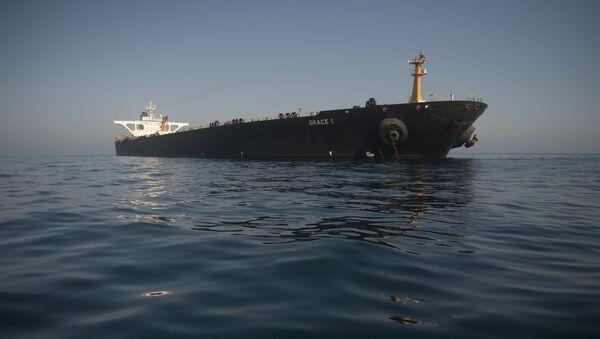 Picture shows Iranian supertanker Grace 1 - Sputnik France