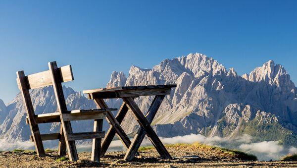 Des montagnes en Italie - Sputnik France