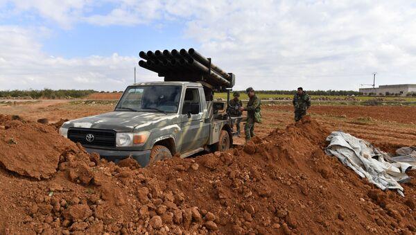 Les positions de l'armée syrienne dans le gouvernorat d'Alep (archive photo) - Sputnik France