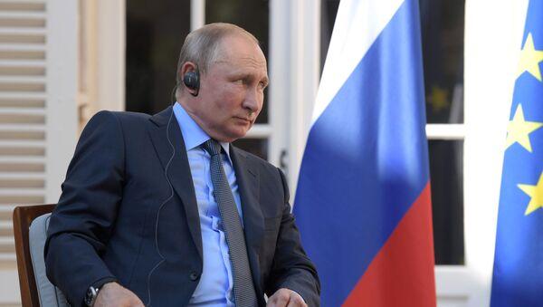 La visite de Vladimir Poutine en France - Sputnik France
